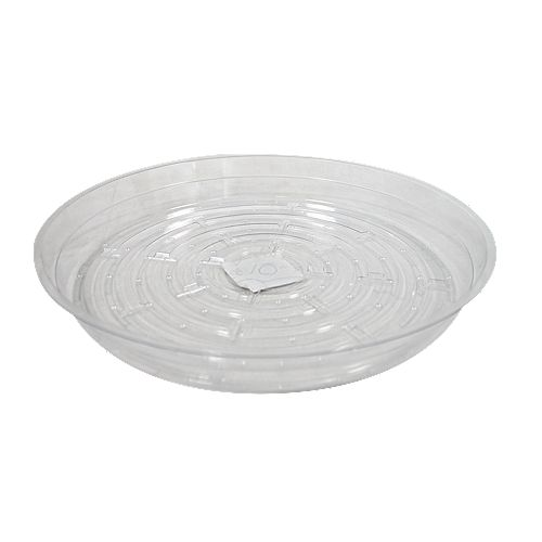 Blooms 10-inch Clear Vinyl Saucer for Potted Plants