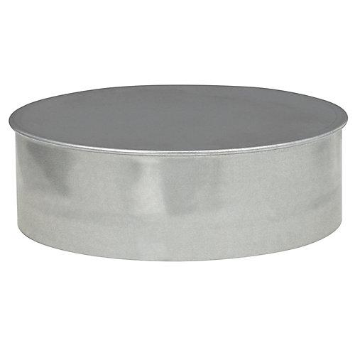 6 Inch Duct Cap Round No Crimp