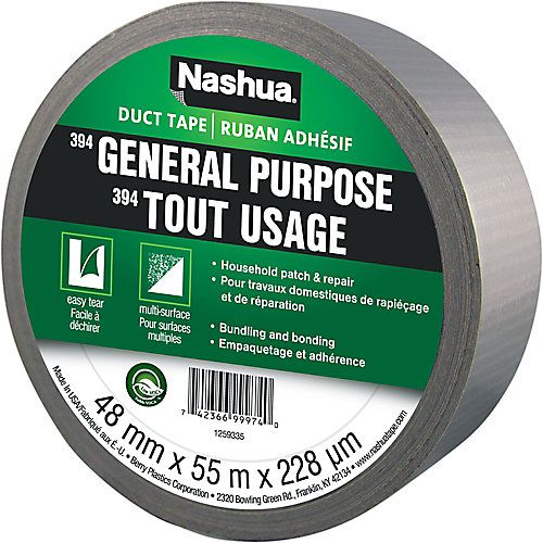 1.89-inch x 55 yd. 394 General Purpose Duct Tape in Silver