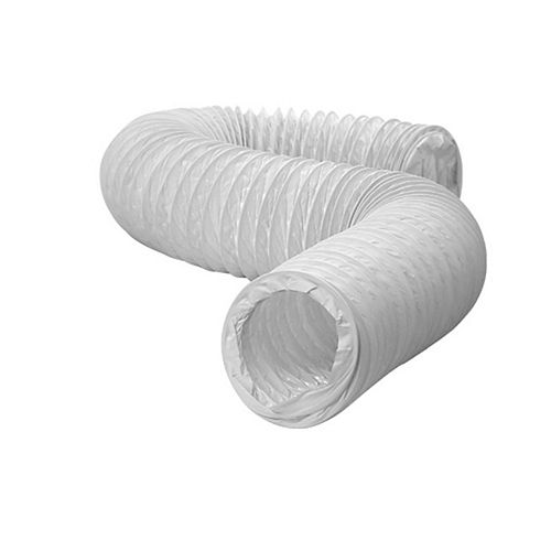 Flexible Vinyl Ducting 4 inch X 20 foot