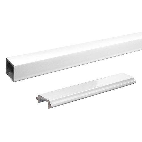 RailBlazers Single Standard Picket - White