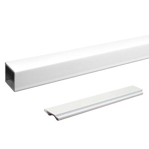 Pieu d'escalier standard individuel - Blanc