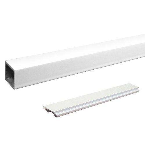 Peak Products Pieu d'escalier standard individuel - Blanc