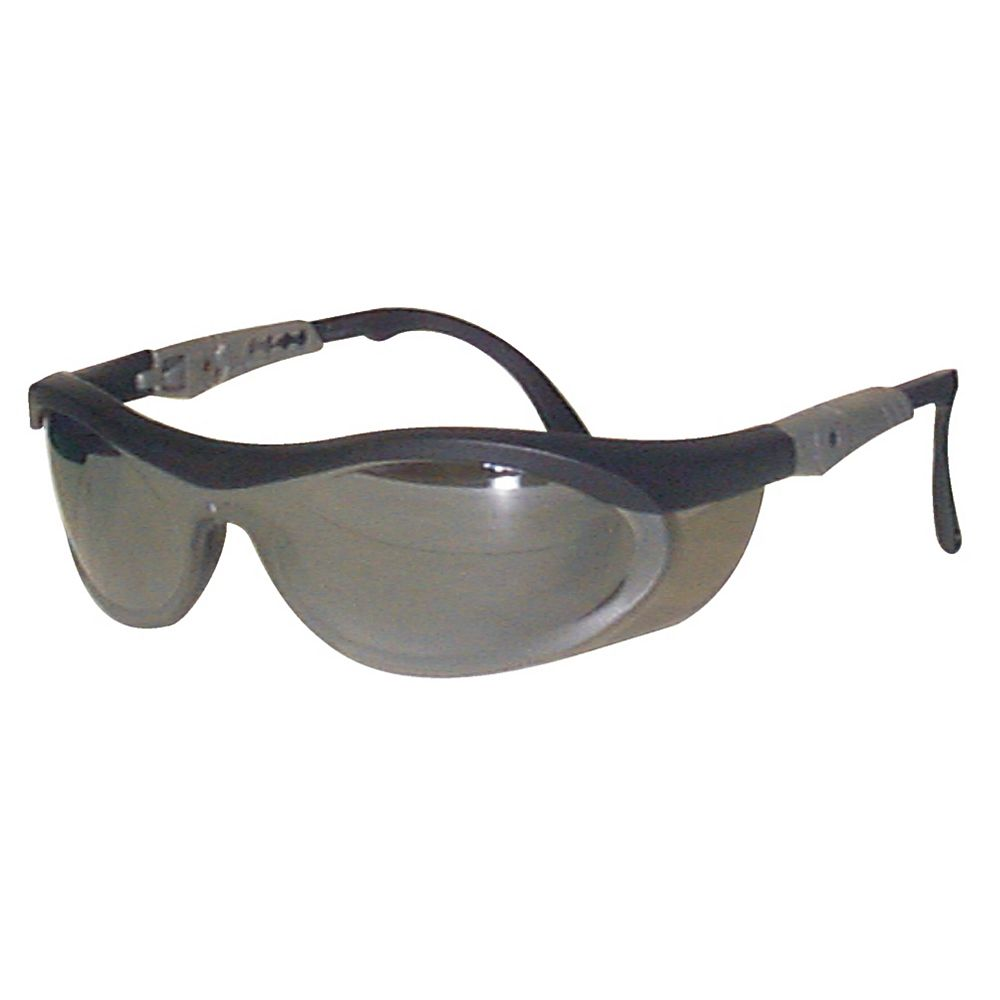Workhorse Safety Glasses Smoke Mirror Lens