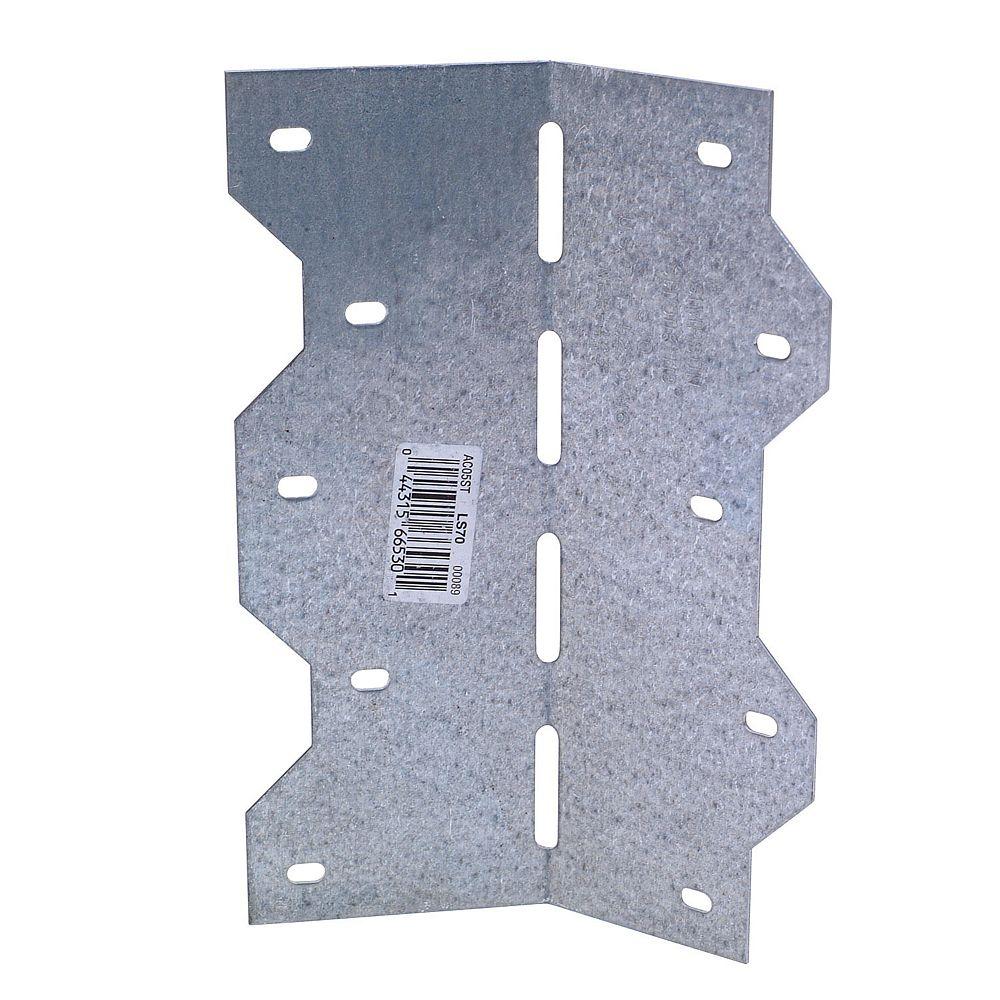 Simpson Strong-Tie Plaque D'assemblage - 1po x 4po