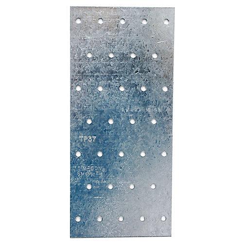 TP 3-1/8 inch x 7 inch 20-Gauge Galvanized Tie Plate