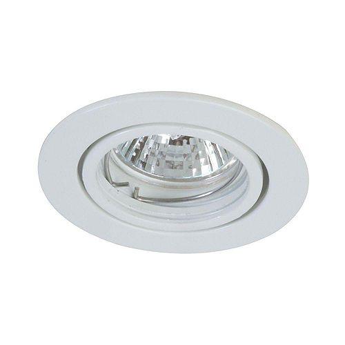 Eurofase Mini Pot Gimbal Downlight Low Voltage, White