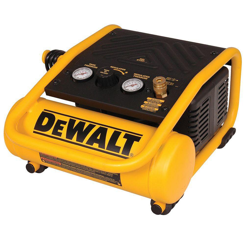 DEWALT 1 Gal. Portable Electric Trim Air Compressor
