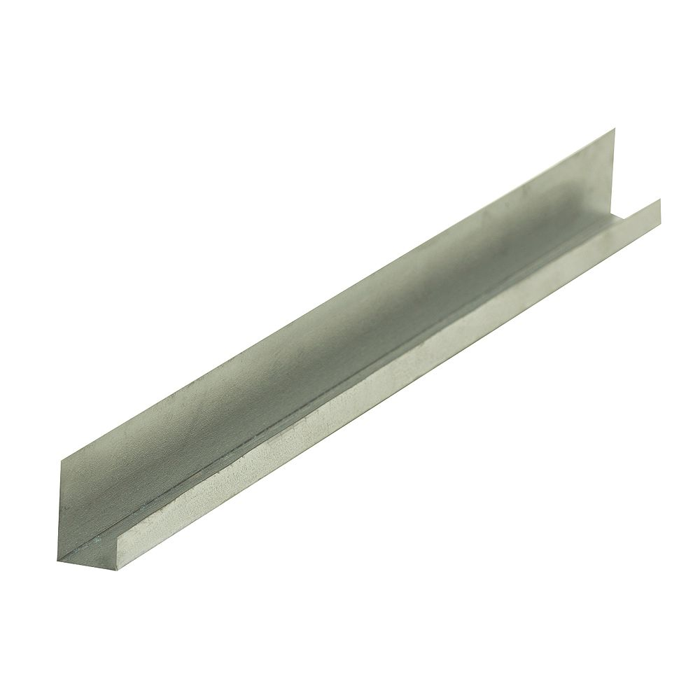 Bailey Metal Products D400 Metal J Drywall Trim 1/2 inch x 10 ft.