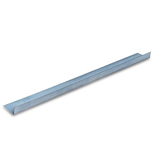 D700 Metal Angle Framing Trim 1 inch x 2 inch 90  10 ft.
