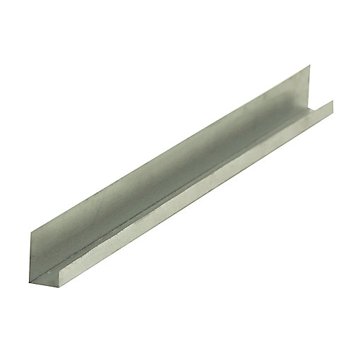 D400 Metal J Drywall Trim 5/8 inch x 10 ft.