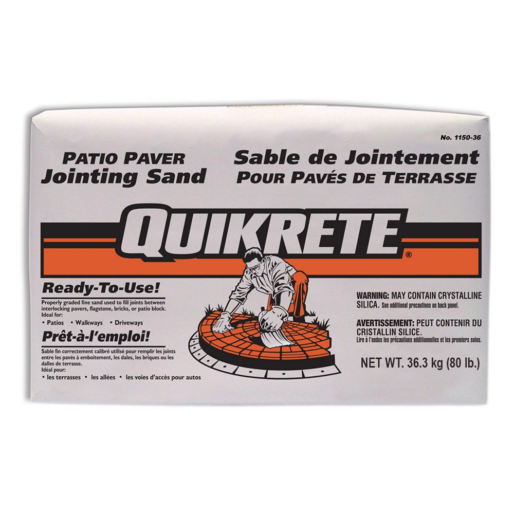Quikrete Patio Paver Jointing Sand 36kg
