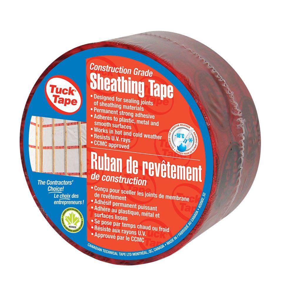 Tuck Tape Ruban de revêtement, 60 mm x 50 m
