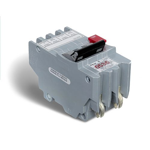 Schneider Electric Disjoncteur GFI enfichable Stab-lok  de 40A biipolaire