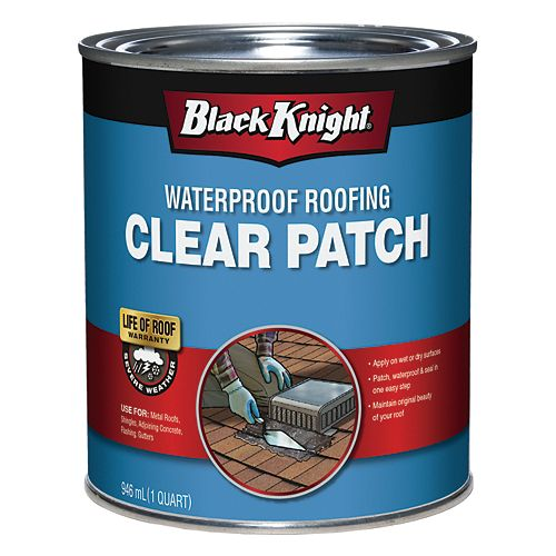 946 mL Clear Waterproof Roof Patch