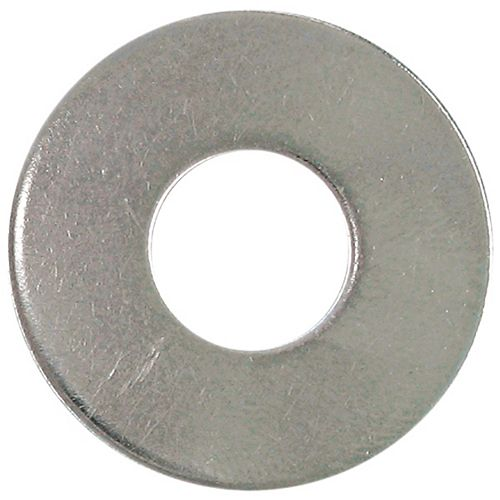 1/4-inch 18.8 Stainless Steel Flat Washer