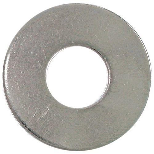 Rondelle plate en acier inoxydable de 1/4 de pouce 18,8