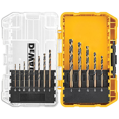 Black Oxide Drill Bit Set (13-Piece)