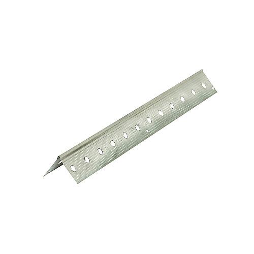 D100 90 Drywall Metal Corner Bead Trim 1-1/4 inch x 10 ft.