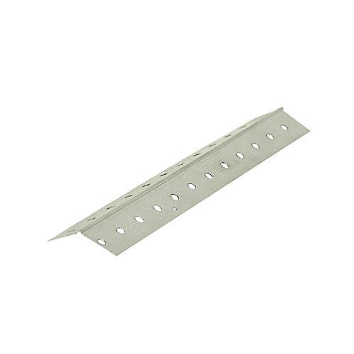 D100 130 Drywall Metal Corner Bead Trim 1-1/4 inch x 8 ft.