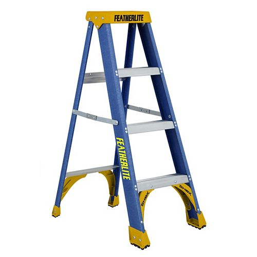 Featherlite fibreglass step ladder 4 Feet  grade I