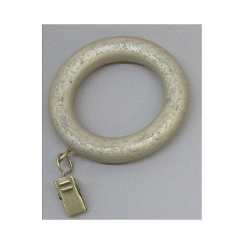Anneaux à pinces de 1 7/8 po de diamètre (emballage de 7) - couleur patine