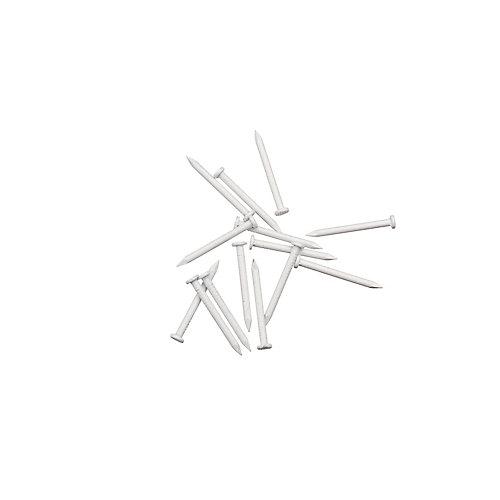 Soffit Trim Nails - White - 1/4 Pound