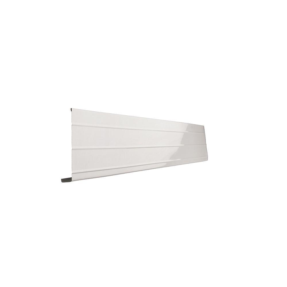 Peak Products 10 ft. L x 6-inch W x 1-inch H Aluminum Fascia Cover in White