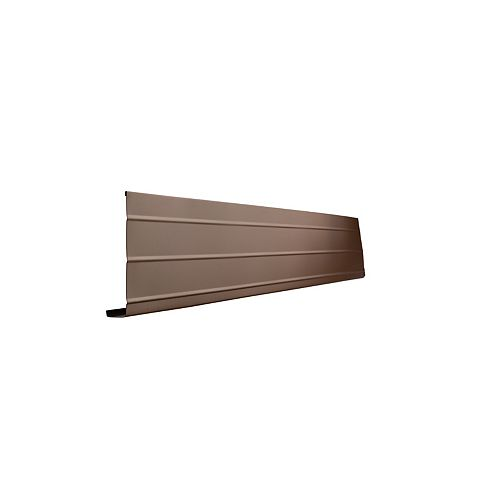 Fascia Cover, 1 In. x 6 In. x 10 Ft. - Brown