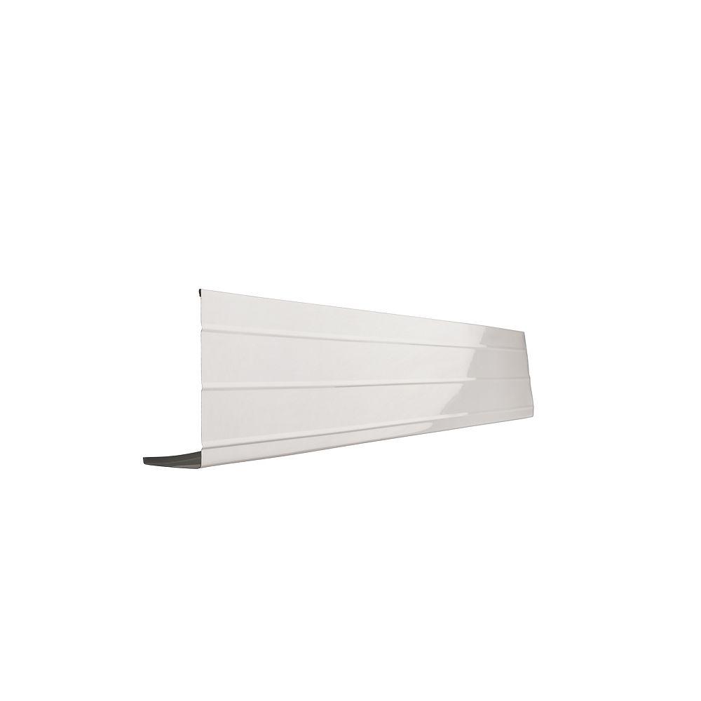 Peak Products 10 ft. L x 6-inch W x 2-inch H Aluminum Fascia Cover in White