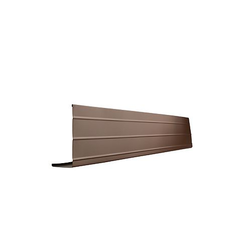 Fascia Cover, 2 In. x 6 In. x 10 Ft. - Brown