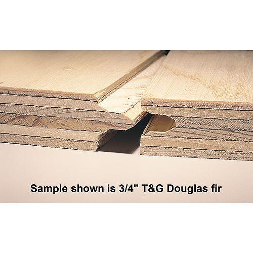 """3/4"""" 4'x8' Standard Rainure et Laguette (T&G) contreplaqué Spruce"""