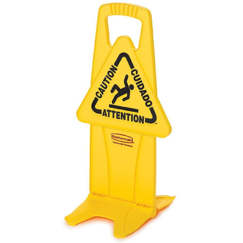 Rubbermaid Stable Wet Floor Sign