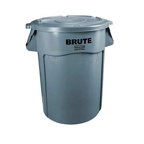 Rubbermaid 121 L (32-Gallon) Brute Trash Container