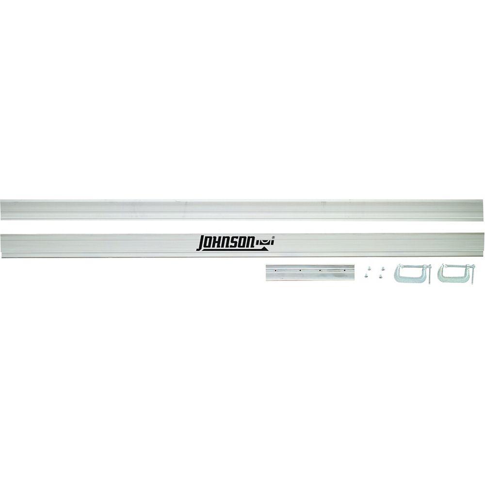 Johnson Guide de coupe en aluminium Tru-Line<sup>®</sup> - 98 po