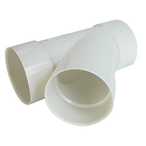 Raccord  pour égout et drainage PVC Y 6 po x 6 po x4 po