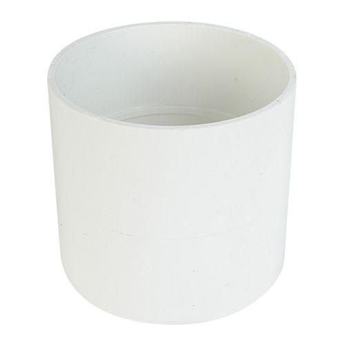 Raccord pour égout et drainage PVC manchon 6 po