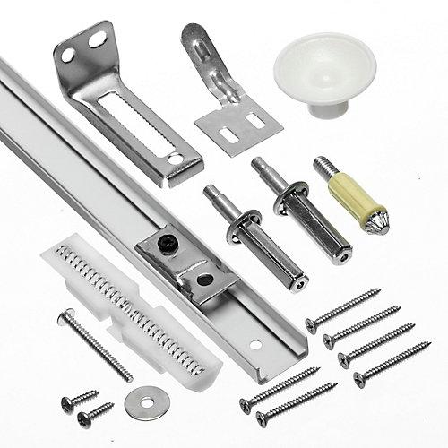 Coulisse de porte pliante et nécessaires de ferrures - 914mm (36 po)