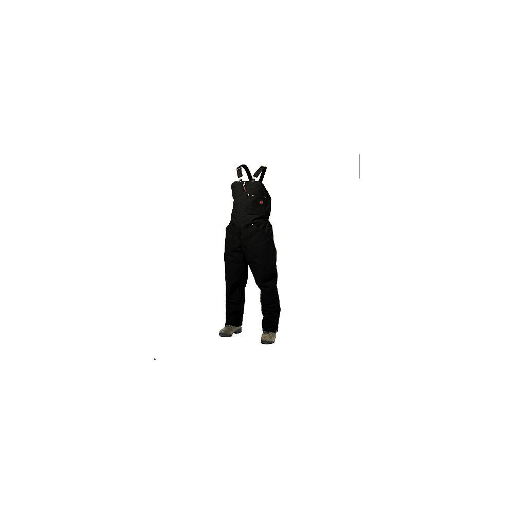 Tough Duck Black Lined Bib Overall - 2XL