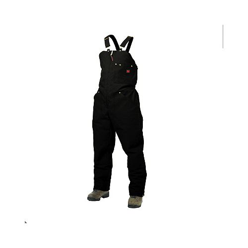 Black Lined Bib Overall - 2XL
