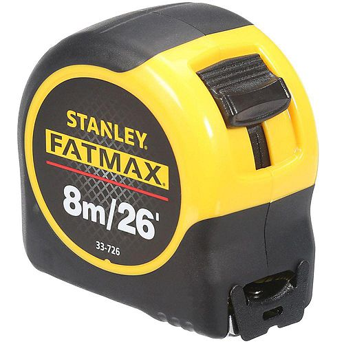 FatMax FATMAX 8m/26 ft. x 1-1/4-inch Tape Measure (Metric/English Scale)