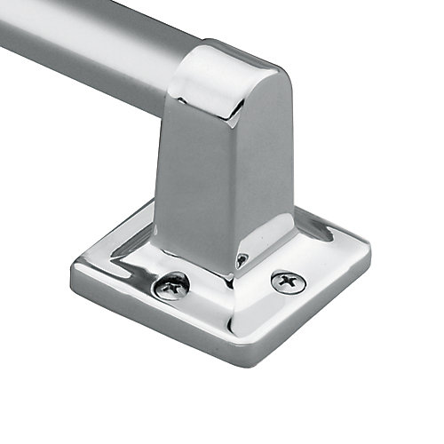7/8 Inch Exposed Screw 24 Inch Bath Grip In Chrome