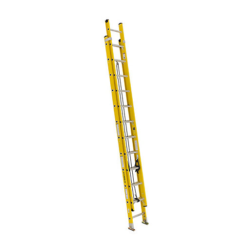 fibreglass extension ladder 24 Feet  grade IA