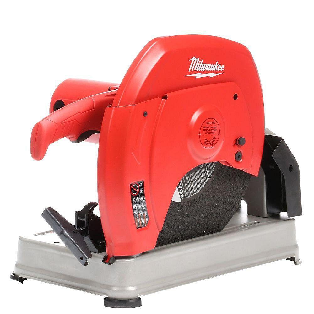 Milwaukee Tool 14-Inch 15 Amp Abrasive Chop Saw
