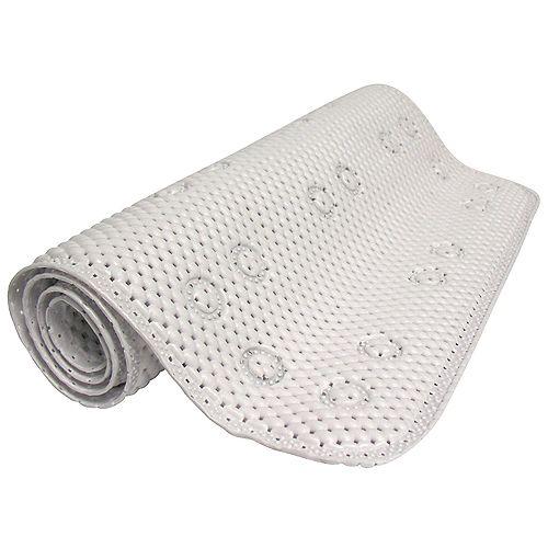Foam Bath Mat - White