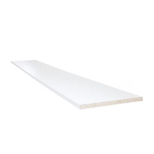Planche pour étagère SmartTopMC, 5/8 po x 15 3/4 po x 96 po