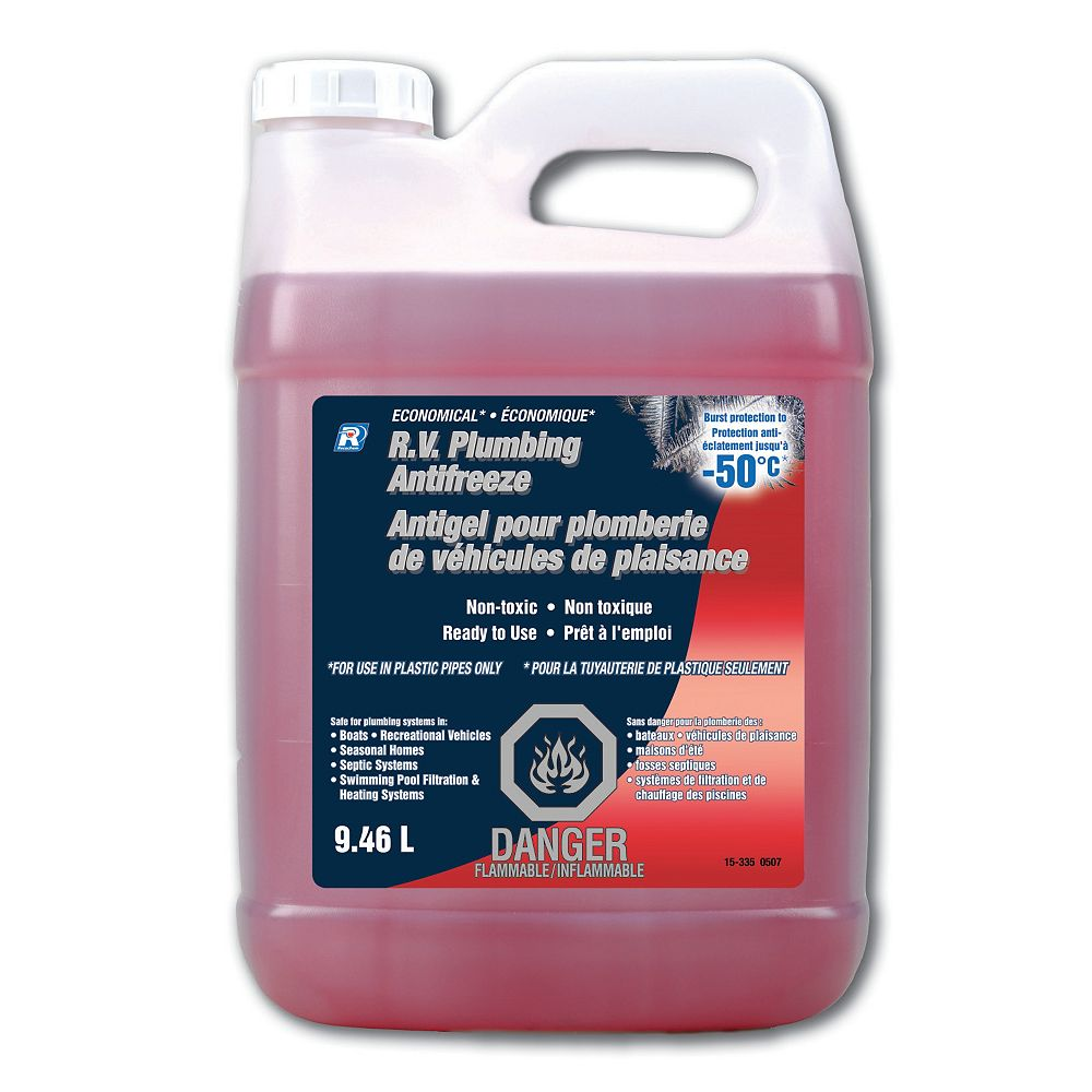 Recochem Economical Rv Plumbing Antifreeze 9 46 L The Home Depot Canada