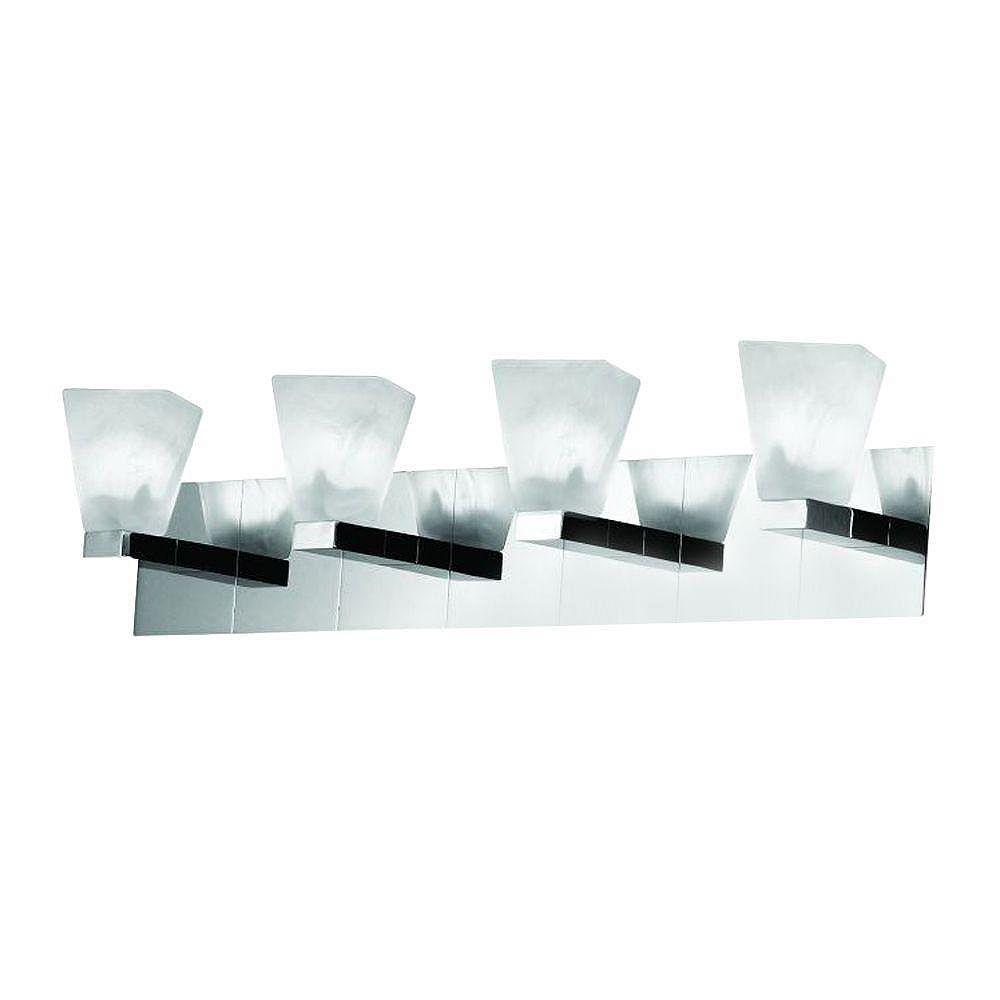 Easylite Éclairage de Salle de Bain à 4 Lumières, Collection Twist