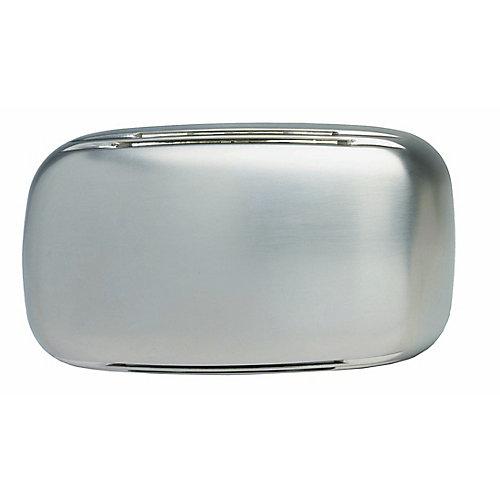 Carillon de porte câblé à modèle moderne rationalisé à boîtier au fini nickel satiné