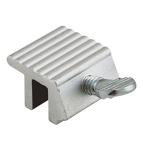 1/4 In., Extruded Aluminum, Thumbscrew Window Lock (2-pack)